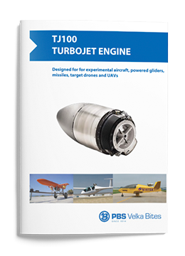 PBS Turbojet engine TJ100