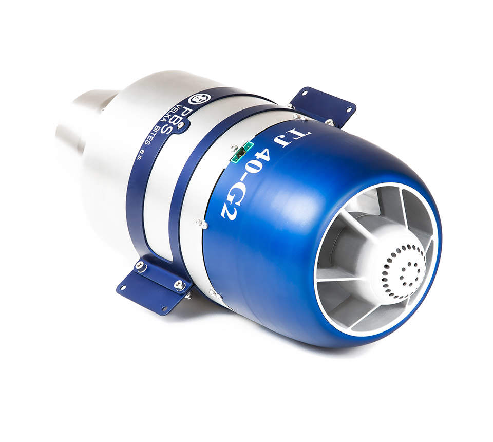 Mini Turboprop Engine: Proudový Motor PBS TJ40-G2