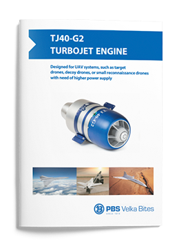PBS Turbojet engine TJ40-G2