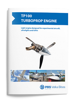 PBS Turboprop engine TP100
