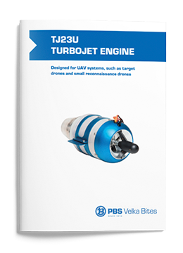 PBS Turbojet engine TJ23U