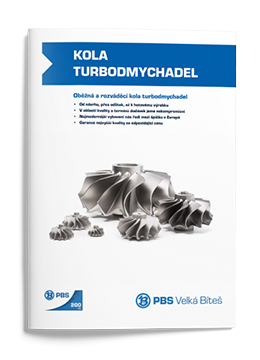 PBS Castings of Turbocharger wheels