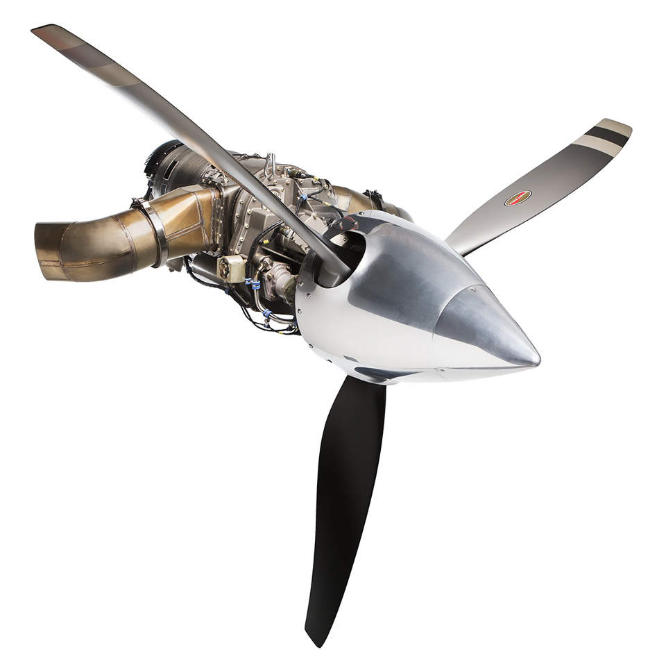 Turboprop Engine PBS TP100