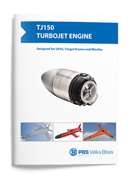 PBS Turbojet engine TJ150