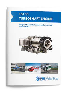 PBS Turboshaft engine TS100